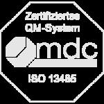 Zertifiziertes QM-System - mdc